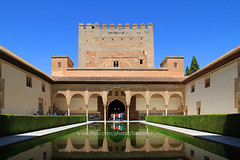 The Alhambra (baddoguy) Tags: reflection pool architecture garden spain ancient unesco andalusia worldheritage traveldestinations