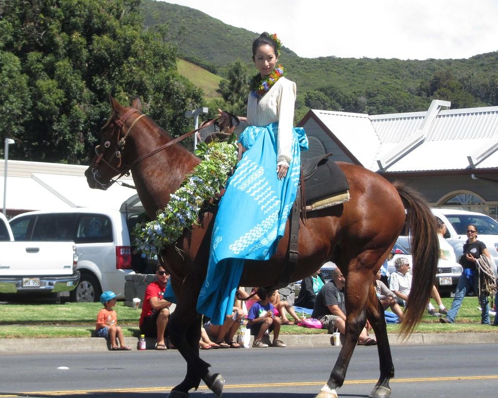 254971d1 pa'u blue (BarryFackler) Tags: horse beauty animal hawaii polynesia cowboy  princess