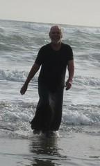 Drapy wet dresses 003. (Jack Williams) Tags: wet fun freestyle auckland dresses wetlook wetfun frolics menindresses wetguy