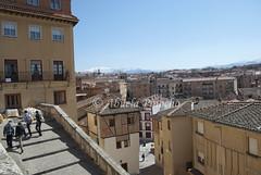 SEGOVIA (SPAIN) (ABUELA PINOCHO ) Tags: espaa spain ciudad escalera segovia castillayleon