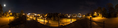 Hammersteinweg - 360° (diwan) Tags: city nightphotography bridge light panorama moon night canon germany geotagged deutschland eos view place stitch nacht roundabout magdeburg stadt mons dunkel panoramix 360° nachtaufnahme langzeitbelichtung longexposures fotogruppe ptgui saxonyanhalt sachsenanhalt 2013 hammersteinweg canoneos650d geo:lon=11632402 spivpano fotogruppemagdeburg geo:lat=52116857