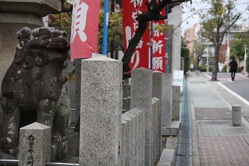 神社の在る街