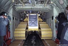 herc womb (Ed.Stockard) Tags: ice cat plane cargo caterpillar greenland nationalguard summit tight hercules c130 unload skiplane d6 109th herc summitstation tightfit lc130 nyang