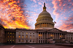 Capitol hill orange sky (Pat Kelleher) Tags: sky orange canon 1740mm capitolhill 6d patkelleher uscapitolhill patkelleherphotography