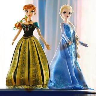 LE Frozen Dolls