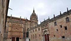 Patio de las Escuelas Mayores de la Universidad de Salamanca. (lumog37) Tags: architecture arquitectura towers cathedrals courtyard torres catedrales plateresco patios