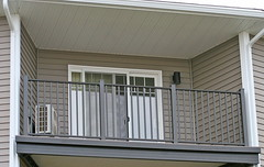 Balconies are manufactured and assembled in the US.