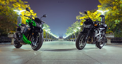 Kawasaki z1000 vs z750 (alexkerkis) Tags: china asian fuji sony bikes motorcycle biker kawasaki bikers streetfighter riders roadster z1000 nightrider z750 motorcylces rx100 x100s