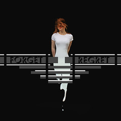 Forget Regret - Fake Album Cover (Corah Louise Photography) Tags: red portrait people woman white girl hair person photography design photo milk artist graphic image surrealism band surreal tshirt pale drip louise cover commercial singer lipstick liquid regret forget ambum corah corahlouise
