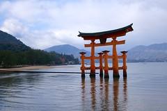 DSC00290 (Lewis Lai) Tags: sunset japan cloudy sony hiroshima miyajima  rx100m2