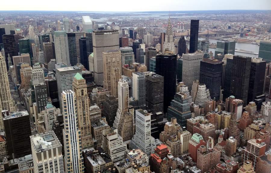 Нью-Йорк в марте 2013 года