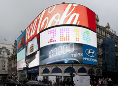 Piccadilly Circus (mark_fr) Tags: london apple garden view cola market circus piccadilly covent shard coca