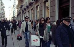H&M Style (nuamba) Tags: street people color film kodak napoli analogue ricoh kr10x nuamba