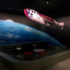 SpaceshipOne replica in the entrance of our new @xprize offices