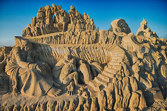 Sand Sculptures at Remal International Festival, Kuwait (CamelKW) Tags: sculpture kuwait 1001nights sandsculpture kuwaitcity proudtobekuwaiti kuwaitsandsculpture remalinternationalfestival