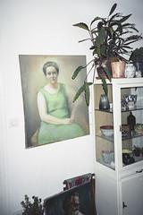Stillife at Gaelle's house (Jrmy Barniaud) Tags: house girl beauty design dress natural interior lifestyle belle bohemian boheme