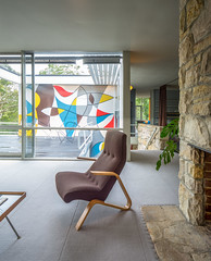 Rose Seidler House (Chimay Bleue) Tags: new house west home rose wales architecture modern painting design chair mural south north sydney harry modernism australia patio deck nsw suburbs grasshopper residence saarinen modernist midcentury eero postwar wahroonga roseseidler seidler
