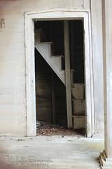 Slave entrance (SouthernHippie) Tags: church stairs rural dark balcony south southern staircase plantation 1853 somber slavery civilrights slave segregation greekrevival sardis oldsouth dallascounty precivilwar adamsgrove