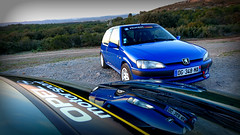 DSC_0021r (@ScarKev34) Tags: car peugeot opel sport mecanic voiture motorsport tigra 106 enfant terrible sun