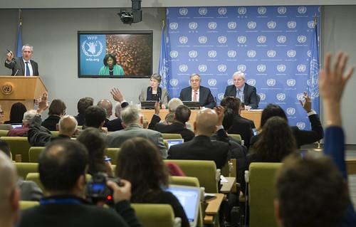 Press Conference on Humanitarian Crises in N.E. Nigeria, Somalia, South Sudan, Yemen