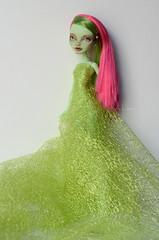 Venus McFlytrap MH (Art_emis) Tags: custom monster high doll ooak venus mcflytrap repaint mattel color photography artemis