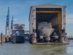 Hamburg Hafen Trockendock