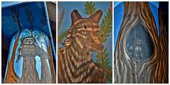 Street Art Toronto Underpass Program, 67 Pottery Road near Tormoden Mill, Toronto, ON (Snuffy) Tags: streetarttorontounderpassprogram startorontoup 67potteryroad toronto ontario canada streetartorontounderpassprogram drewmosley niceasitgetslevel1 level1photographyforrecreation