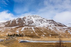 Langidalur Iceland (Einar Schioth) Tags: langidalur mountain winter tree road trees sky snow day canon clouds cloud coast nationalgeographic ngc nature mountains landscape lake photo picture outdoor iceland ísland ice hunavatnssysla einarschioth
