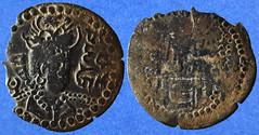 Une drachme d'un roi Turk Sahi (VIIIe siècle) (Enez35) Tags: monnaie drachme cuivre turkshahis afghanistan kaboulistan kabulistan göbl254