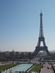 Eiffelturm (schremser) Tags: frankreich paris eiffelturm himmel blauerhimmel trocadédor toureiffel turm wasser stadt