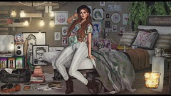 Spring clean (Hara ♥) Tags: kumuckyhara secondlife thearcade kustom9 thechapterfour truth momento catwa gato bueno bubble pumec cestlavie clavv thesecretstore garbaggio leprimitif