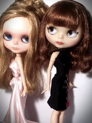 Blythe-a-Day# 16. Sophisticated&# 19. Basic Black: Francoise Dorleac& Catherine Deneuve