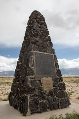 Trinity Atomic Bomb Test Monument (Critter Seeker) Tags: trinity atomicbomb monument history historic nuclearweapon nuclear test newmexico manhattanproject worldwarii war bomb abomb
