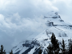 Snow Clouds Moving In II (C_B_Images) Tags: spring nature canada banffnationalpark alberta 150