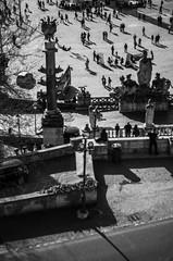 Piazza del Popolo (ΞSSΞ®®Ξ) Tags: ξssξ®®ξ pentax k5 angle 2017 smcpentaxm50mmf17 outdoor street blanckandwhite city roma light people sunday pincio villaborghese pov italy lazio