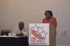 2017 Public Healthcare and Education Workers Conference (2) (CWA Union) Tags: phew orlando 2017