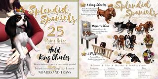 JIAN Splendid Spaniels (The Epiphany April '17)