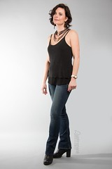 Kelcey (austinspace) Tags: woman portrait spokane washington photographer model studio alienbees