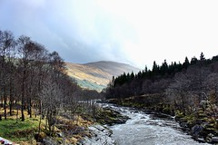 glen orchy (anna n rob) Tags: scotland glenorchy glen orchy argyll westcoast river caledonianforest bute water trees