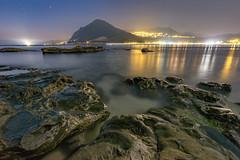番仔澳星夜 (JIMI_lin) Tags: taiwan 基隆 深澳漁港 深澳岬角 番仔澳 基隆山 九份 sunrise