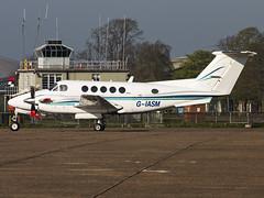 2 Excel Aviation | Beech 200 Super King Air | G-IASM (Bradley at EGSH) Tags: egsu dux duxford duxfordaerodrome iwmduxford aircraft ga generalaviation 2excelaviation beech200superkingair giasm