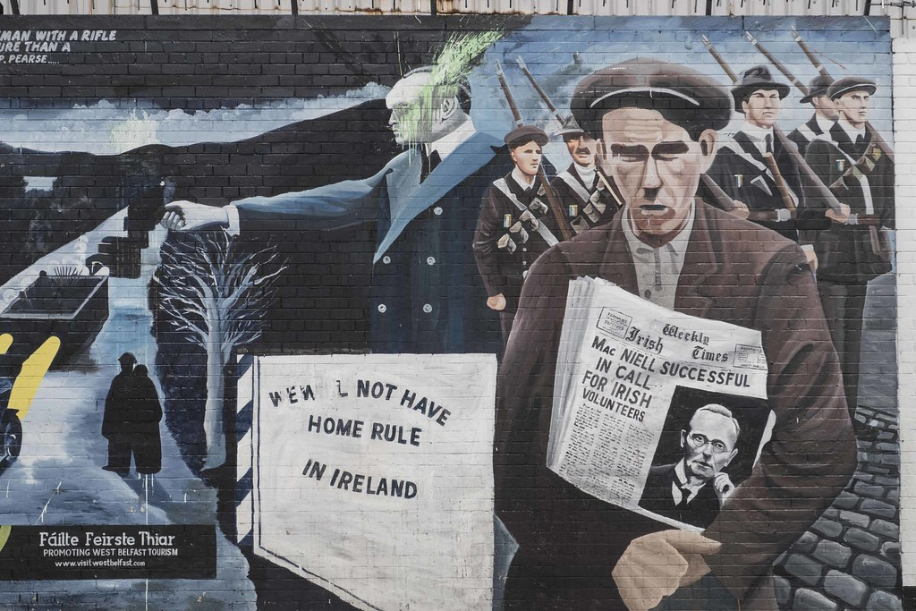 The world 39 s best photos of graffiti and ulster flickr for Mural irlande