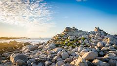 Point Pinos, Pacific Grove (thomasdwyer) Tags: monterey montereypeninsula montereycypress rocks geology california pacific pacificgrove point pointpinos pinos 17mile 17miledrive carmel landscape sunset ocean beach pebblebeach clouds