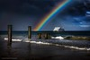 Searoad Ferrie Under A Rainbow (Lachlan Manley Photography) Tags: boat ferrie rainbow rainy wetweather bay ship tourism victoria australia
