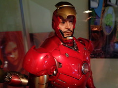 Iron Man Mark III - Tony Stark (becauseBATMAN) Tags: iron man mark 3 iii tony stark red figure 16