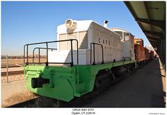 CRGX SW1 6751 (Robert W. Thomson) Tags: crgx cargill emd diesel locomotive fouraxle switcher switchengine endcabswitcher sw1 train trains trainengine railroad railway ogden utah