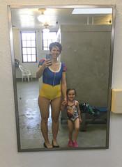Swim Time (evaxebra) Tags: luna lessons swimming swim swimsuit swimsuits anna elsa snowwhite snow white blackmilk