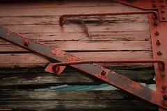 IMG_6702 (joyannmadd) Tags: galvestonrailroadmuseum texas trains railroad tracks traindpot museum historic cars engines memorobilia old sculptures silver diningcar menu plates wheels