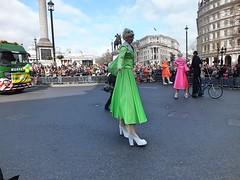 St Patrick's Day Parade - London 2017 (Waterford_Man) Tags: tall giants stilts london parade stpatricksdayparade