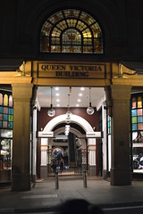 QVB Market street entrance  (Sydney NSW Australia)  CBD 2017 (2) (nicephotog) Tags: city qvb market street entrance sydney cbd queen victoria building stained glass art sandstone 19th century